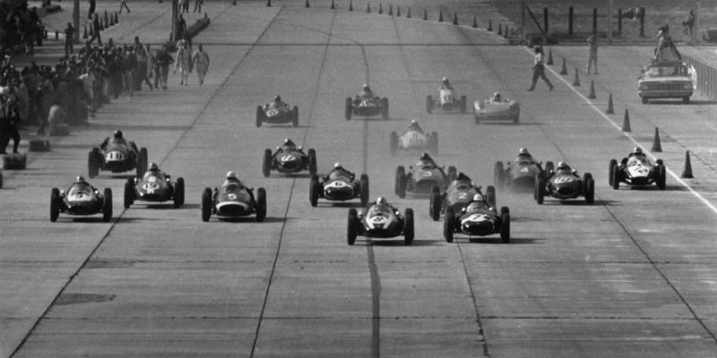 Salida GP EE.UU 1959