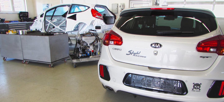KIA TCR Stohl Racing