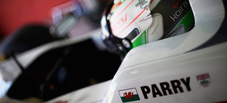 Matt Parry test GP3 Cheste 2016