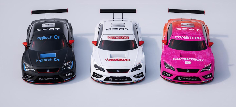 Tres SEAT STCC 2016