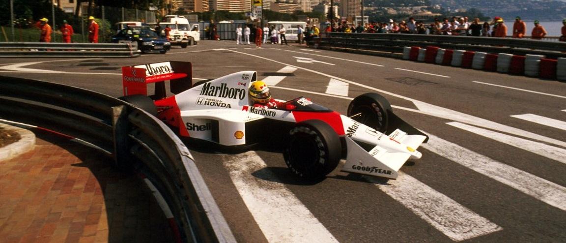 Ayrton Senna GP Mónaco 1989
