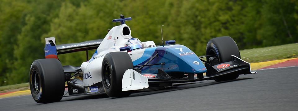 Egor Orudzhev Fórmula V8 3.5 Spa 2016