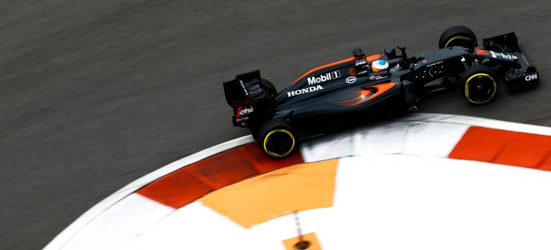 Fernando Alonso GP Rusia 2016 P6