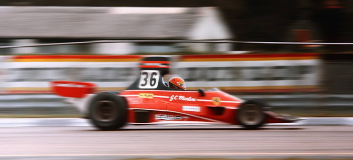 Giancarlo Martini Ferrari 312T Scuderia Everest