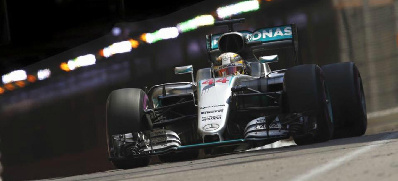 Lewis Hamilton P1 GP Monaco 2016