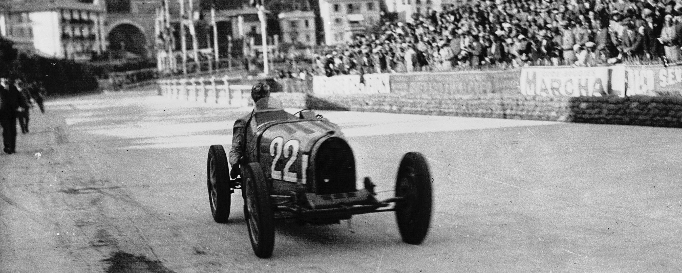 Louis Chiron GP Mónaco 1931
