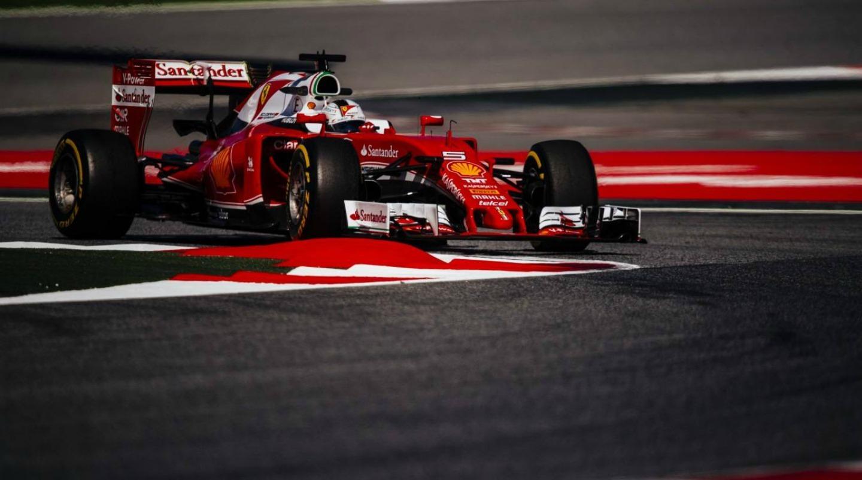 Sebastian Vettel GP Spain 2016