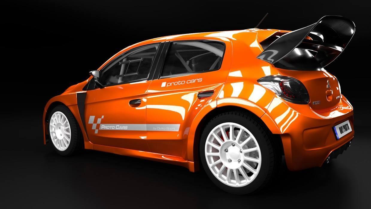 Rarezas de los rallyes. A falta de Mitsubishi oficial, buenos son los protos de Dytko. Foto 3 de 5.