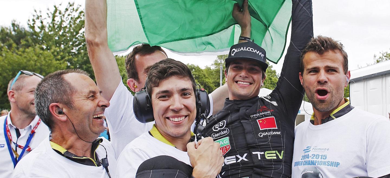 Piquet Fórmula E Campeón 2015
