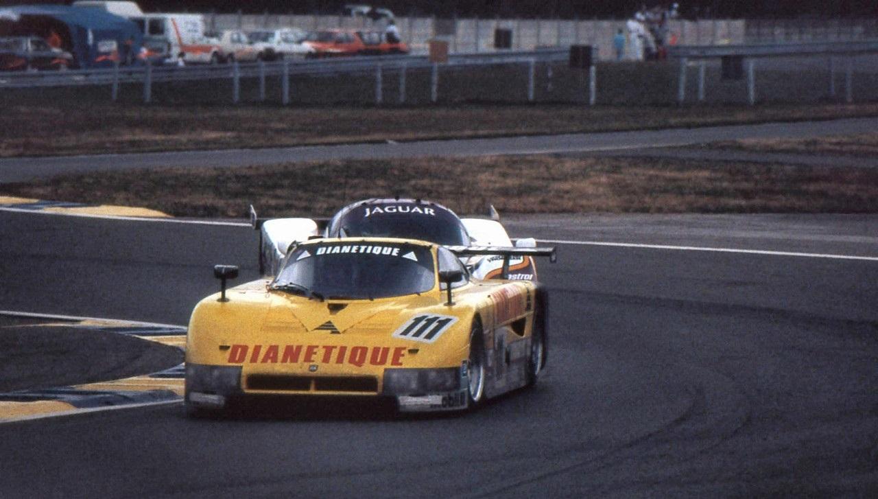 Fermín Vélez 1987 Le Mans Spice