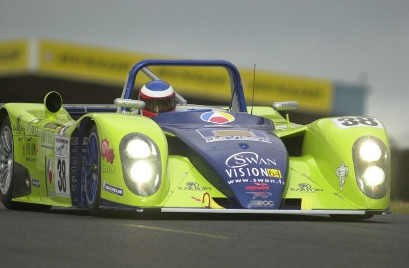 Jordi Gené 2001 Le Mans Reynard