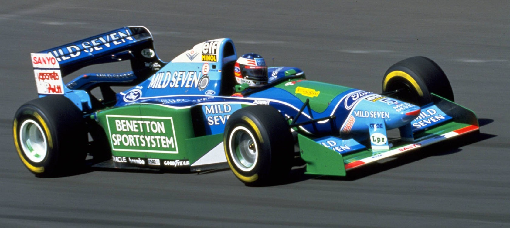 Michael Schumacher GP Hungría 1994
