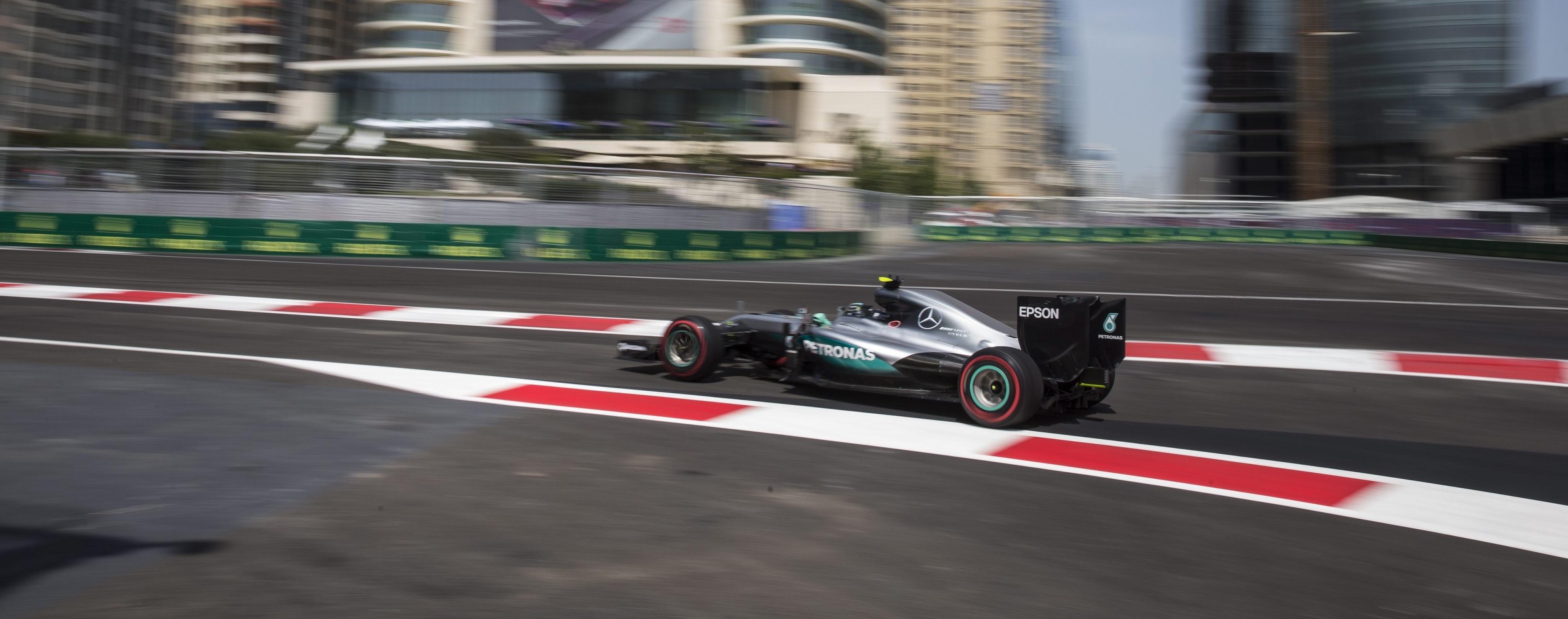 Nico Rosberg F1 Bakú 2016