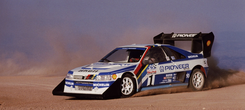 238 - Pikes Peak 1989. Ari Vatanen/ Peugeot 405 Turbo 16.