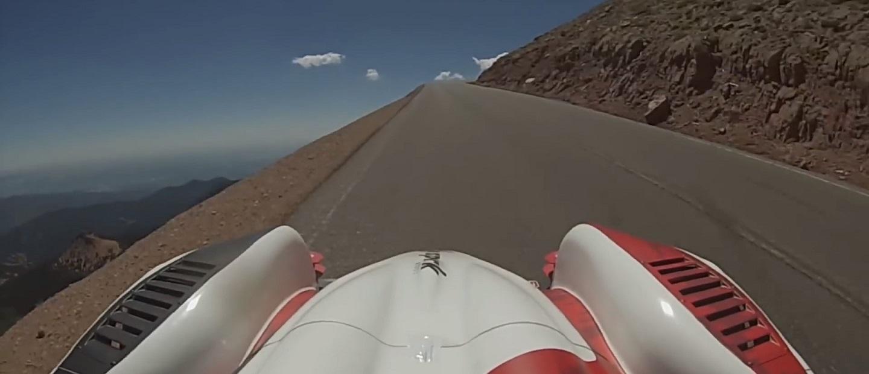 Romain Dumas 2016 King of the Mountain Winning Pikes Peak Run