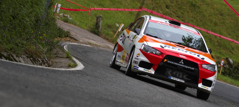 Mitsubishi Lancer EVO X R4 - Cristian García Rally Ourense 2016 Cristian-garcia-cera-ourense-rallye-2016