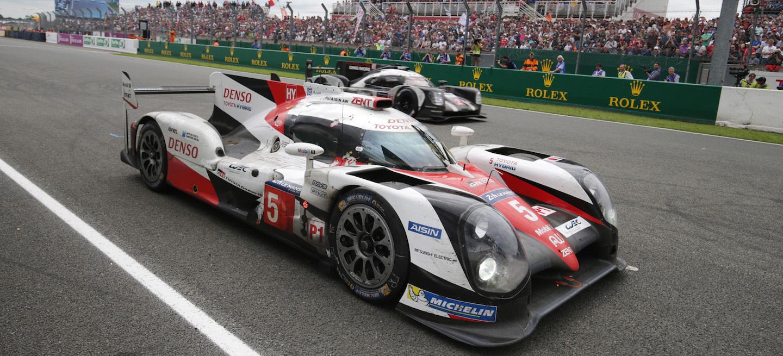 Porsche pasa a Toyota Le Mans 2016