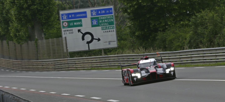 Audi R18 test Le Mans 2016