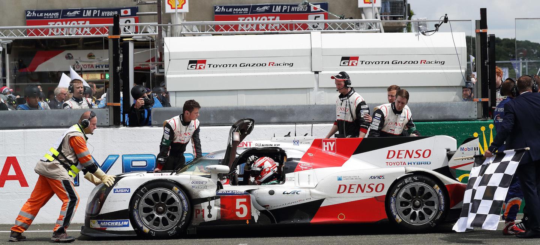 Toyota abandono Le Mans 2016
