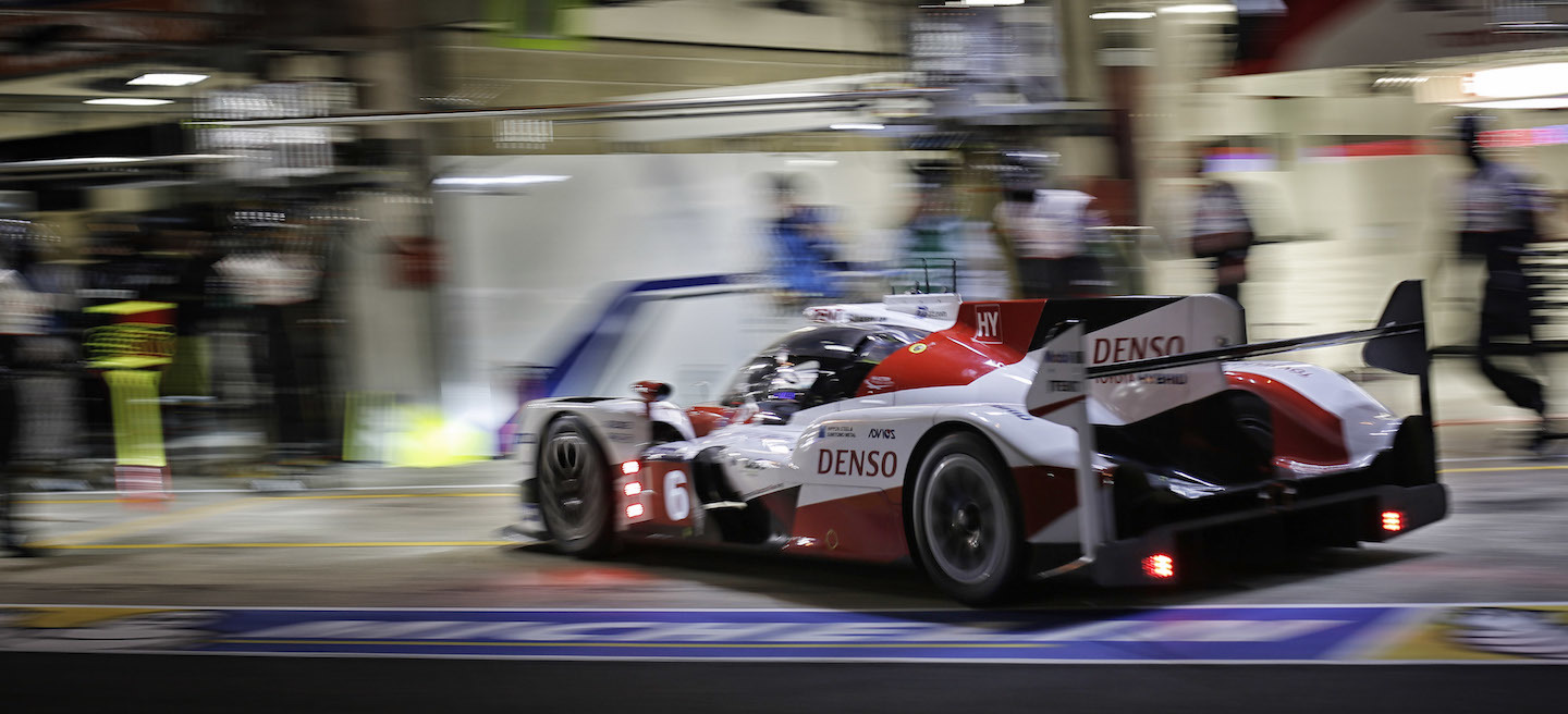 Toyota medianoche Le Mans 2016