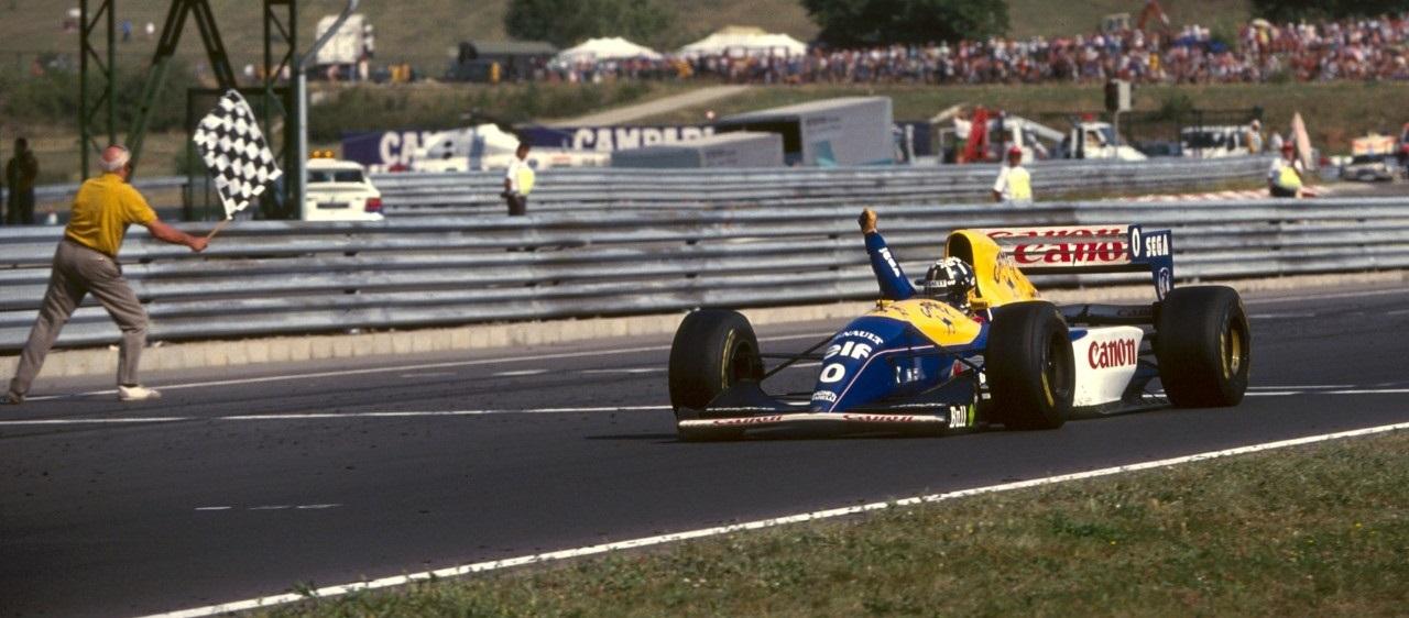 Damon Hill 1993 Hungaroring