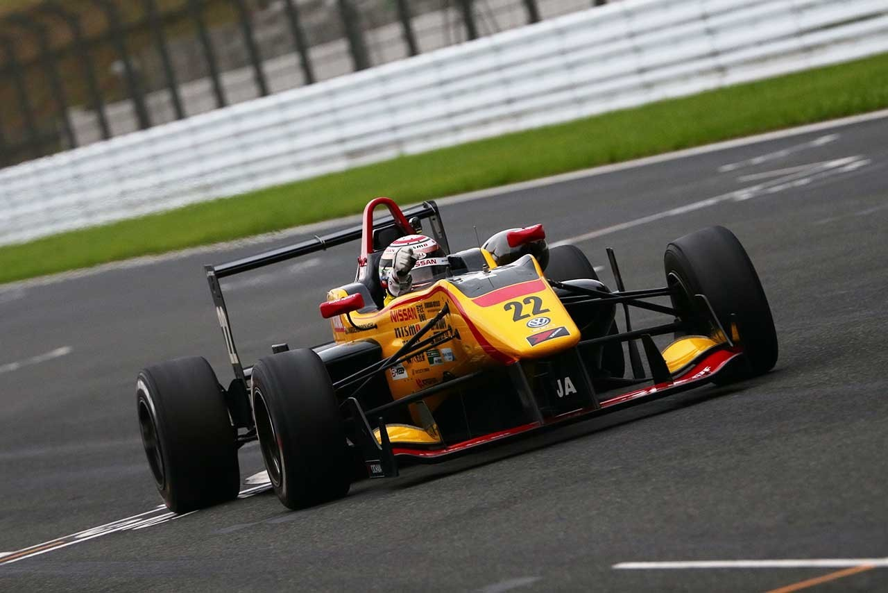 Jann Mardenborough F3 Fuji 2 2016