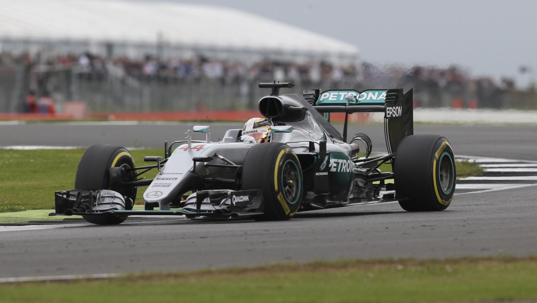 Lewis Hamilton Silverstone 2016