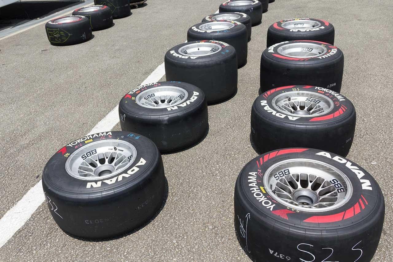 Neumáticos Yokohama 2016 Super Fórmula