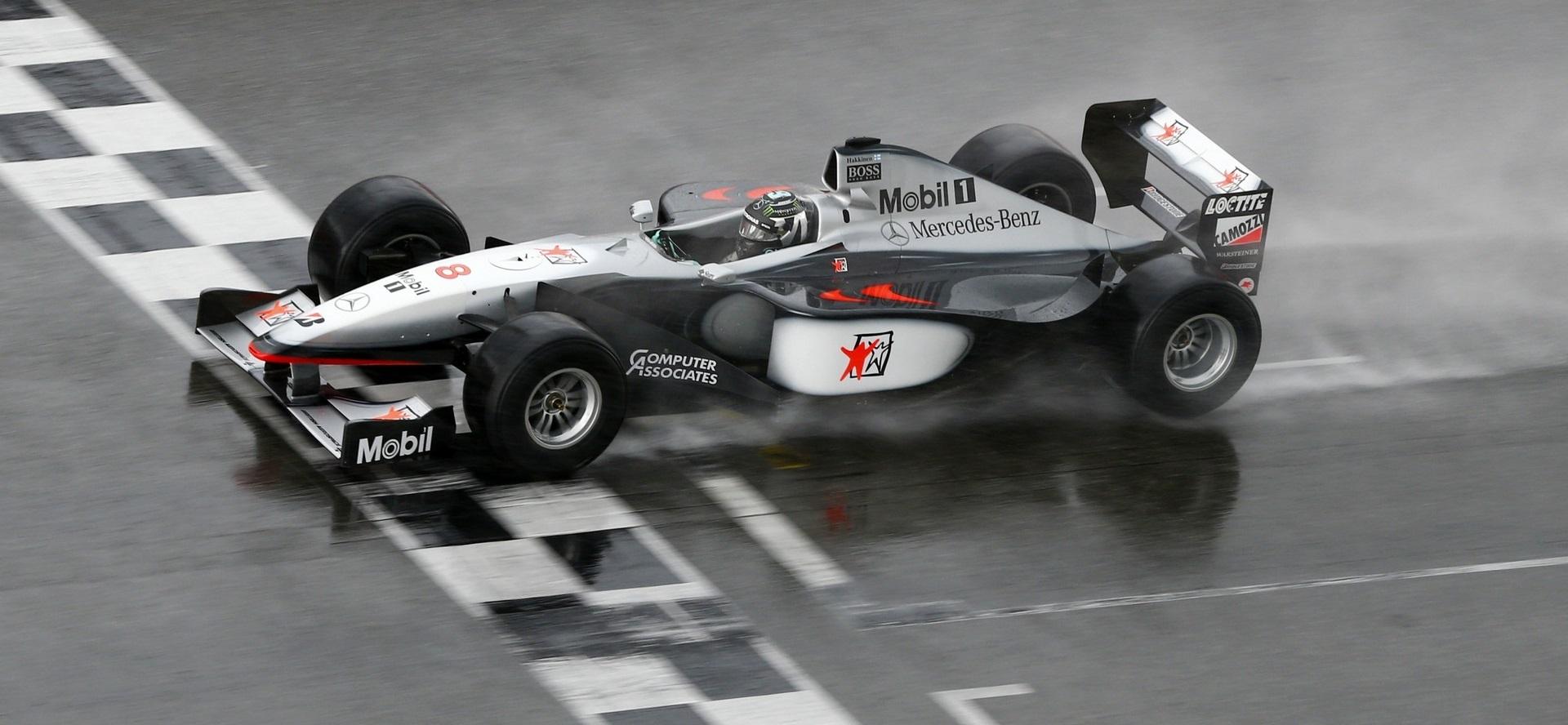 Nico Rosberg McLaren MP4-13