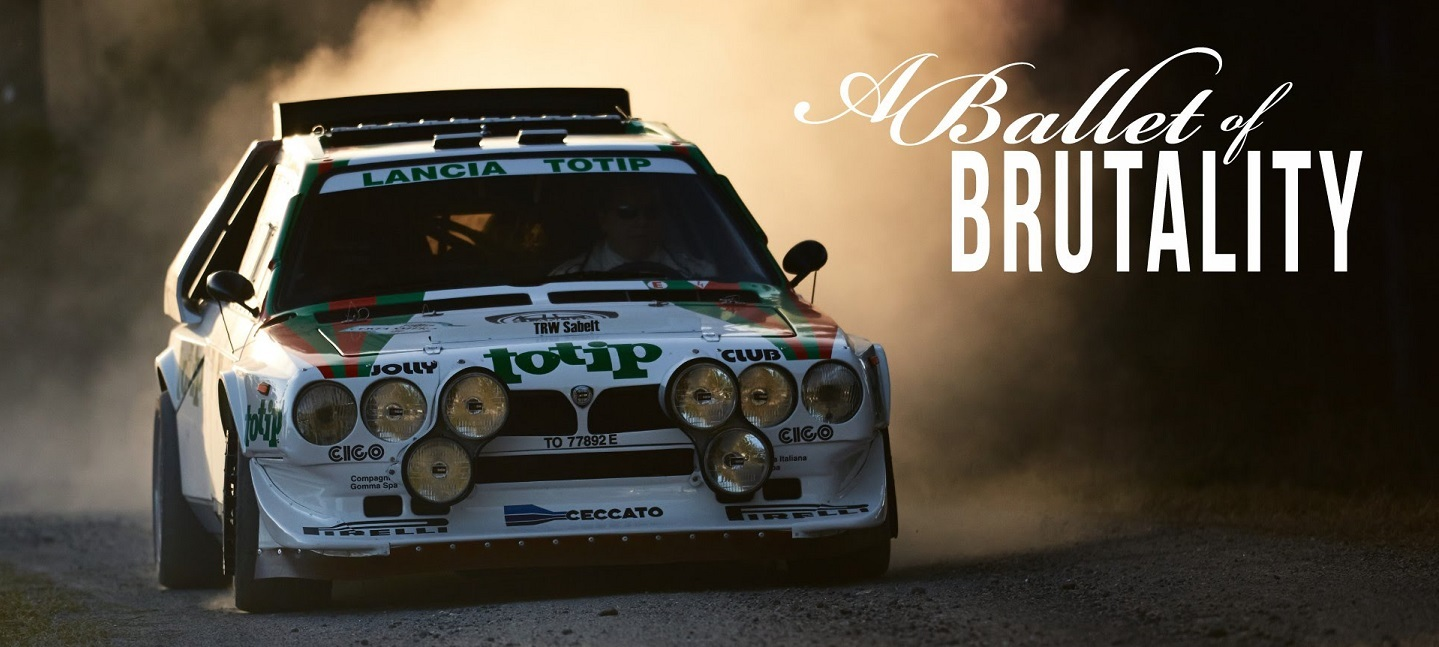 This Lancia Delta S4 Is A Ballet Of Brutality (BQ)