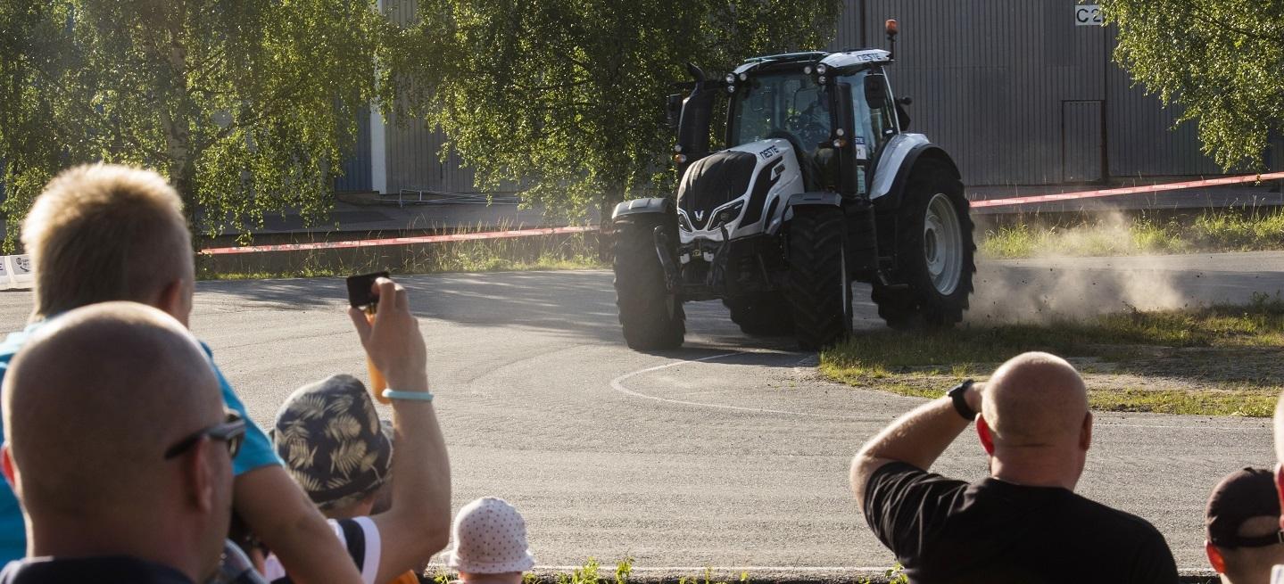 Jaru-Matti Latvala (FIN) performs during FIA World Rally Championship 2016 Finland in Jyvaskyla on July 27, 2016