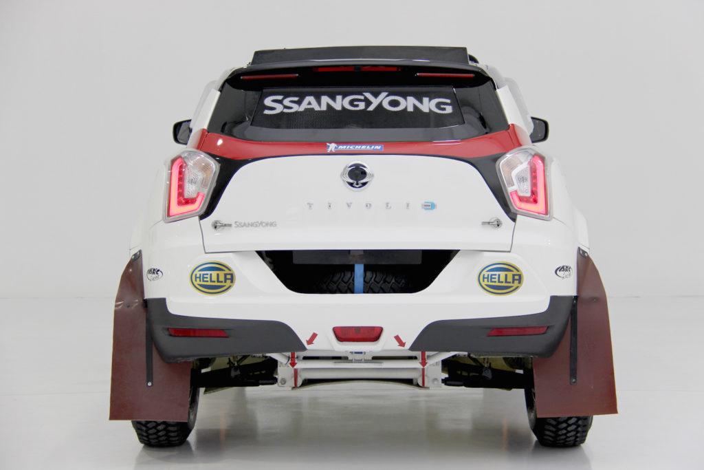 SsangYong Tivoli Rally Raid