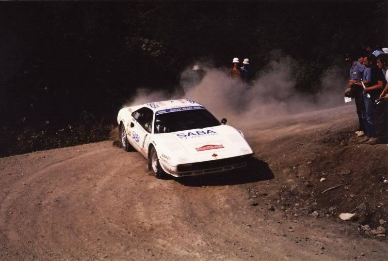 Björn Waldegård Rally San Remo 1983