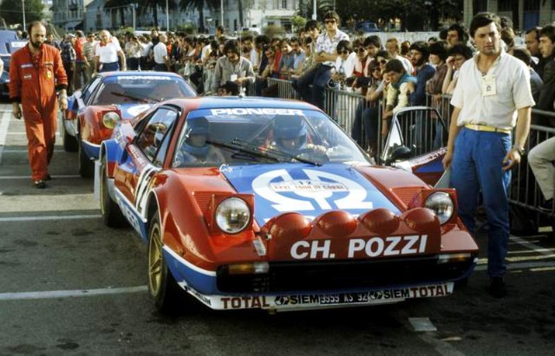 Pozzi Tour De Corse 1982