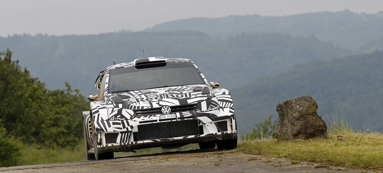 Volkswagen Polo R WRC Test