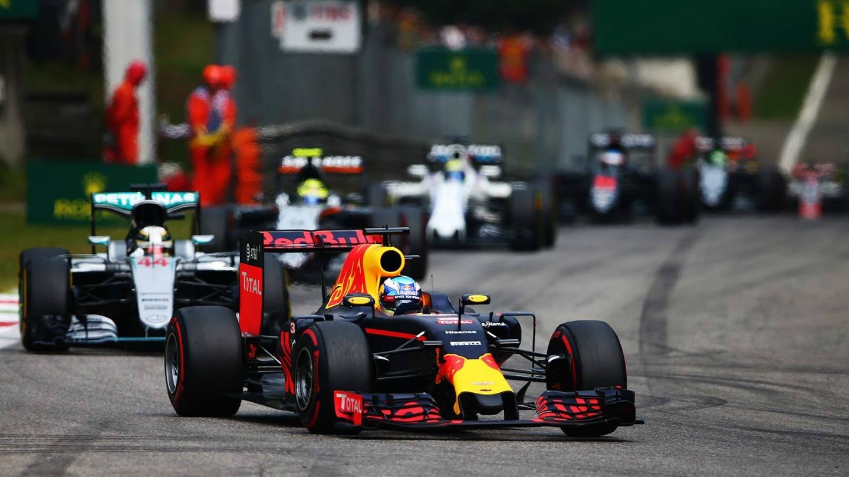 Daniel Ricciardo P3 GP Italia 2016