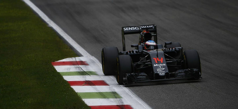 Fernando Alonso P14 GP de Italia 2016