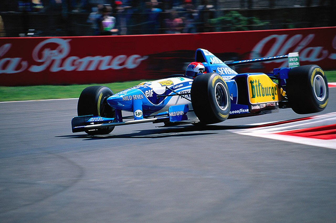 Johnny Herbert 1995 GP Italia