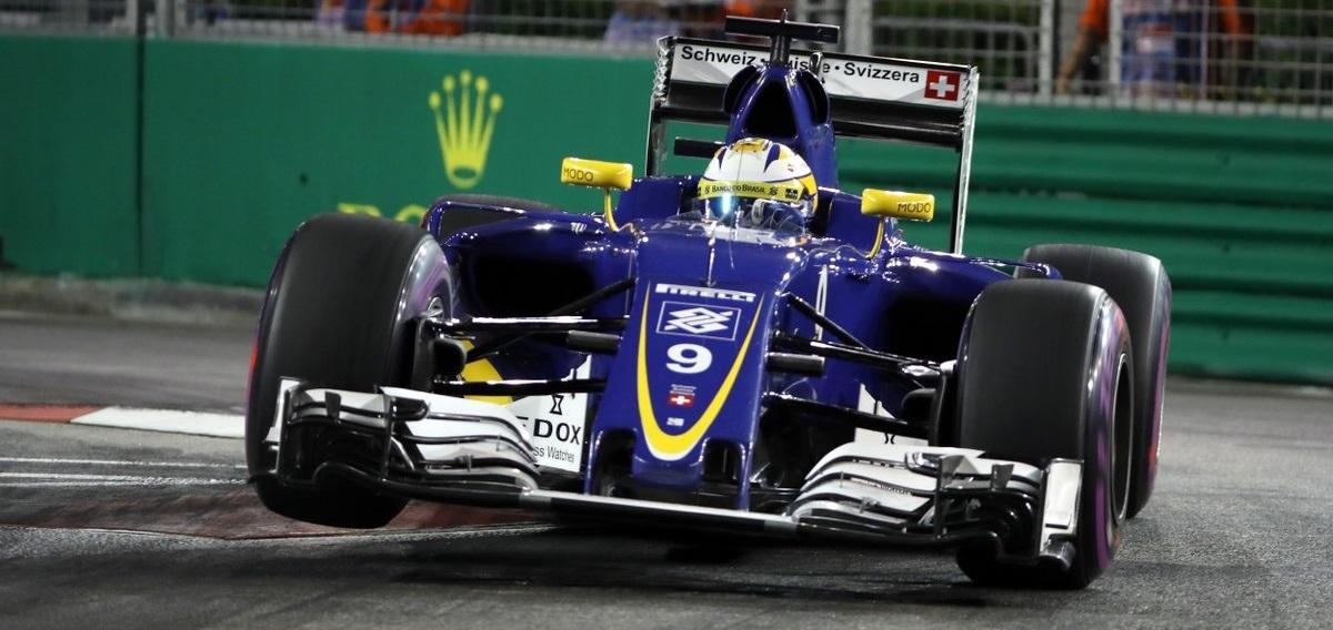 Marcus Ericsson GP Singapur 2016