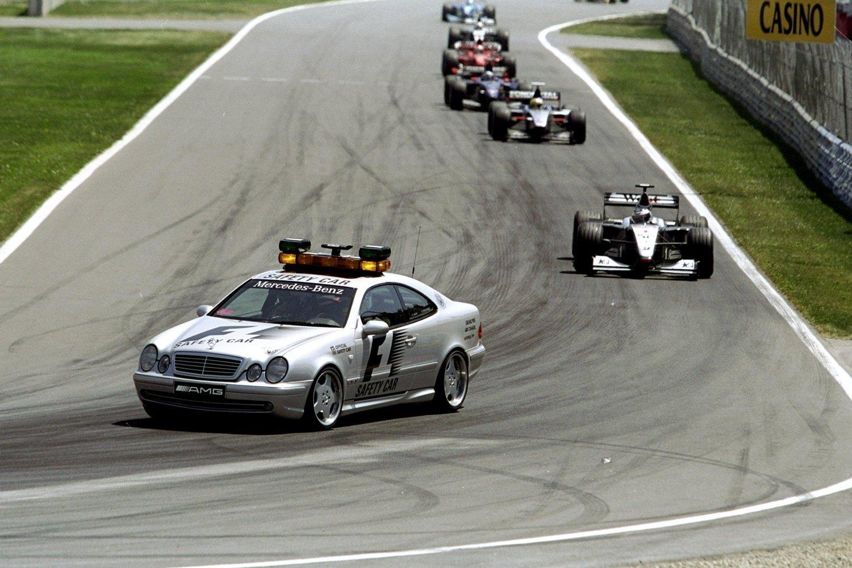 Mercedes CLK 55 AMG Safety Car
