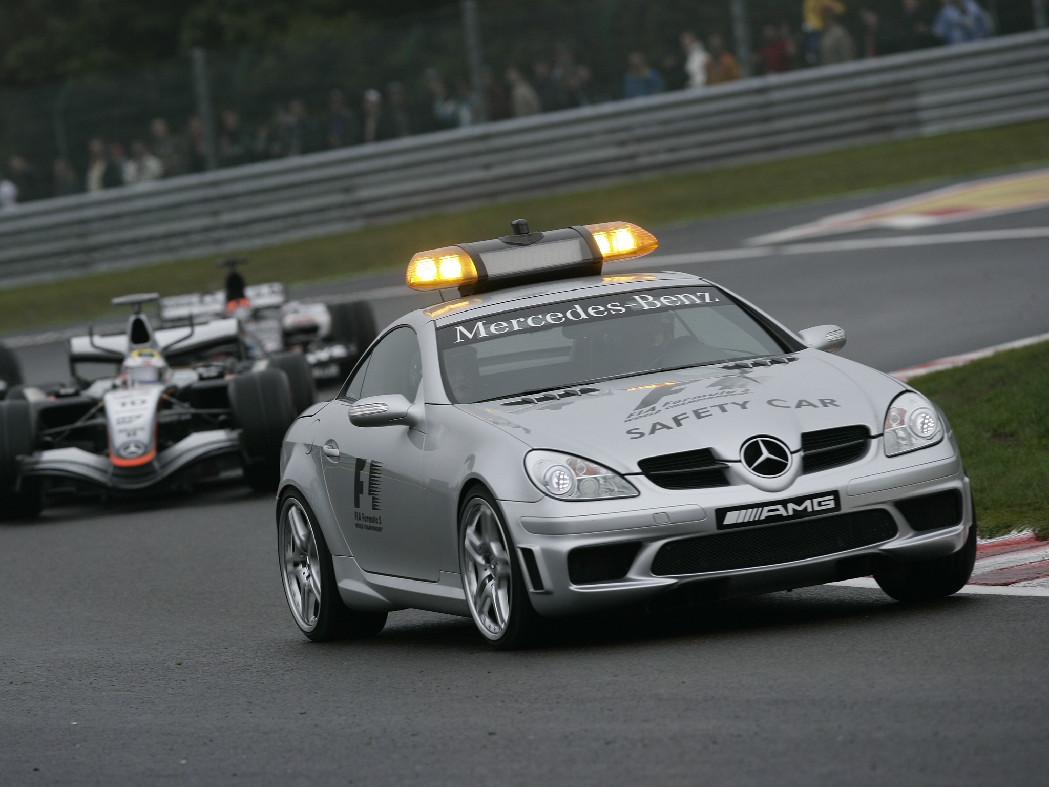 Mercedes SLK 55 AMG Safety Car