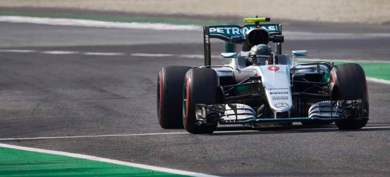 Nico Rosberg P1 GP Italia 2016