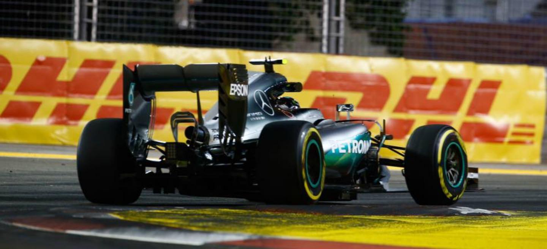 Nico Rosberg pole GP Singapur 2016