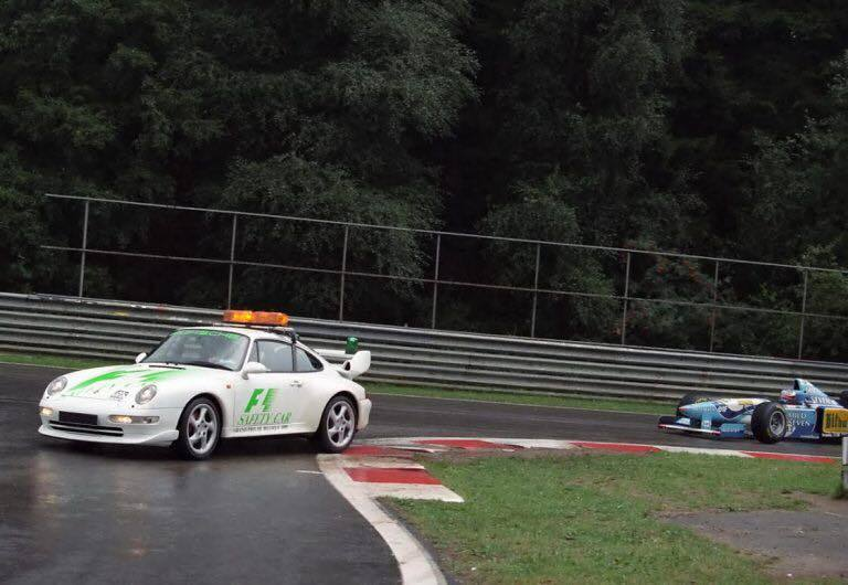 Porsche 911 GT2 Safety Car