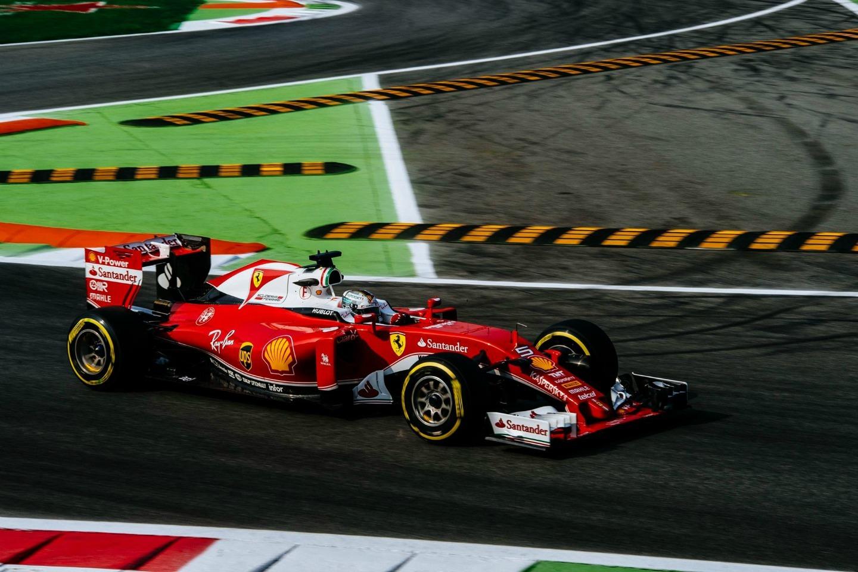 Sebastian Vettel P3 GP Italia 2016
