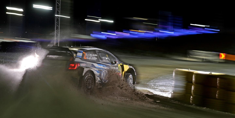 Jari-Matti Latvala (FIN), Miikka Anttila (FIN) Volkswagen Polo R WRC (2016) WRC Rally Sweden 2016