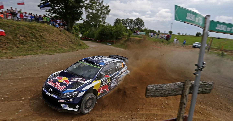 Jari-Matti Latvala (FIN), Miikka Anttila (FIN) Volkswagen Polo R WRC (2016) WRC Rally Poland 2016