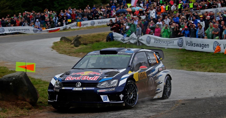 Jari-Matti Latvala (FIN), Miikka Anttila (FIN) Volkswagen Polo R WRC (2016) WRC Rally Germany 2016