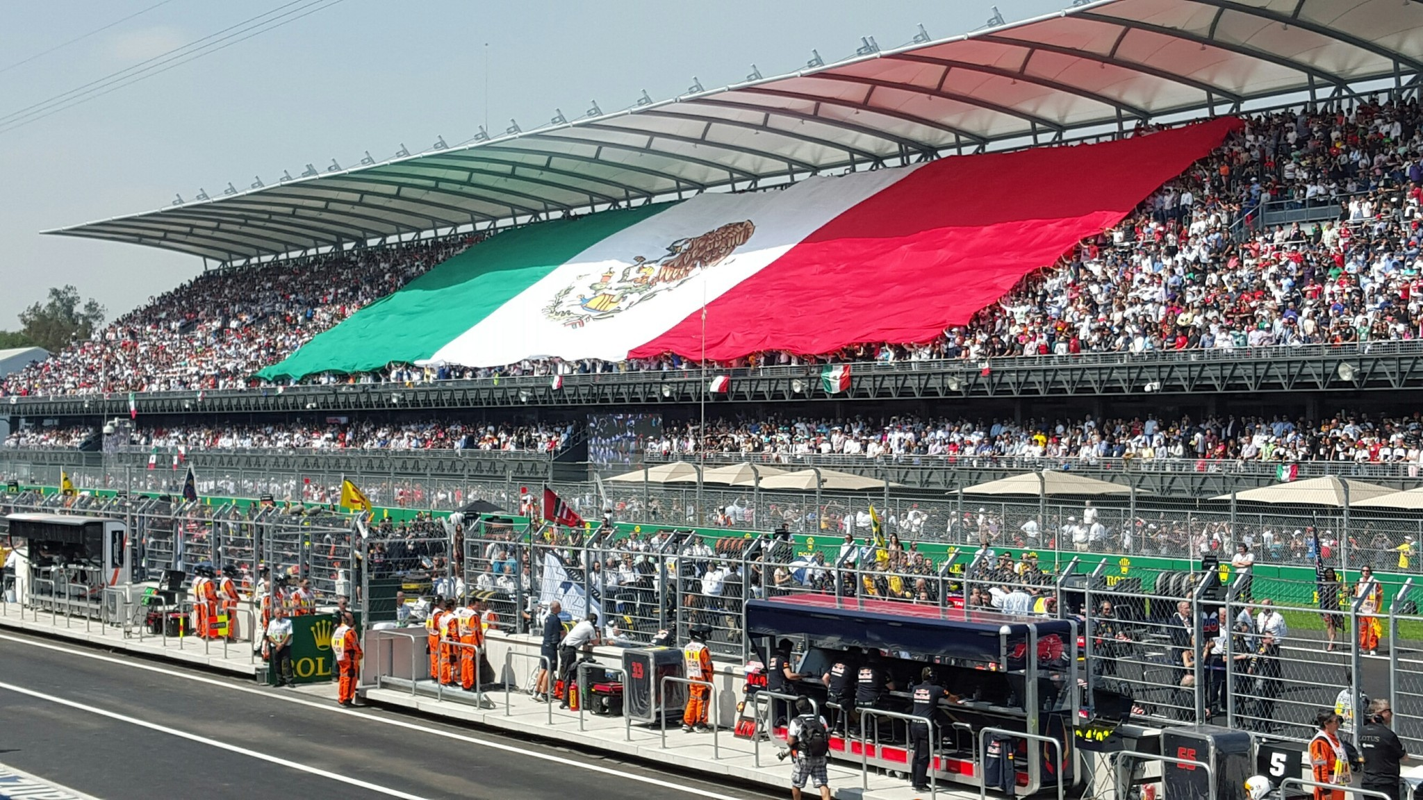 GP México 2015 Tribuna