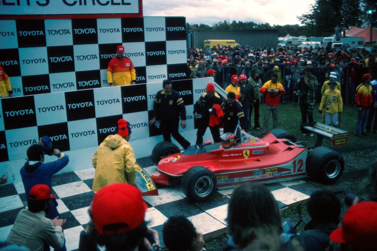 Gilles Villeneuve Watkins Glen 1979 Podio